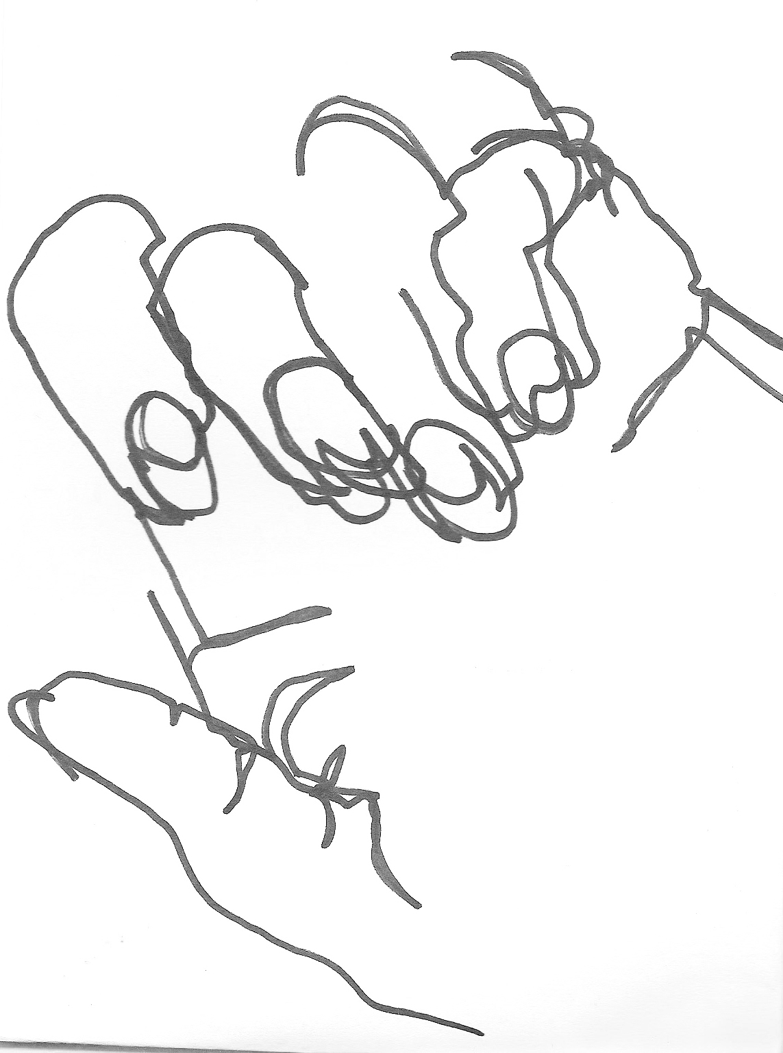 Blind Contour Drawing - Lessons - Tes Teach