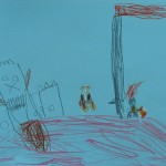 Castle Attack by Moonlight by Scott - Age 5