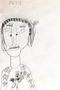 Portrait by July - Age 6