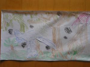 Volcano Erupting by Scott - Age 5