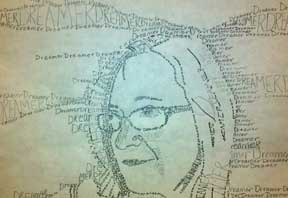marcia A Self Portrait with Words