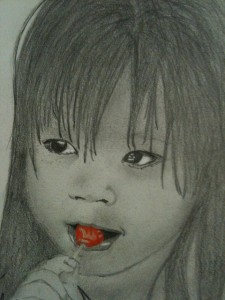 Eva Mei by Jerah, age 15, pencil