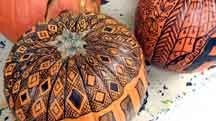 Markers Can Decorate Pumpkins