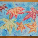 """Autumn Leaves Falling"" by Melody - age 10"
