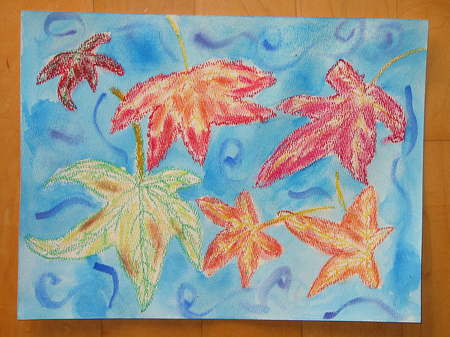 """""""Autumn Leaves Falling"""" by Melody - age 10"""