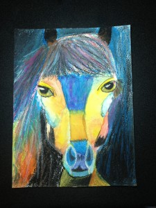 blue horse ryann 10 225x300 November 2012 Art For Homeschool Art Show Results
