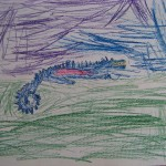 """Dragon"" by Collin - age 9"
