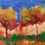 """Fall Trees"" by Graham - age 13"