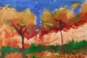 """""""Fall Trees"""" by Graham - age 13"""
