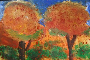 """""""Fall Trees"""" by Luci - age 15"""