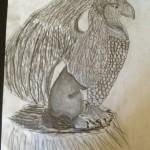 """Griffin"" by Ryann - age 10"