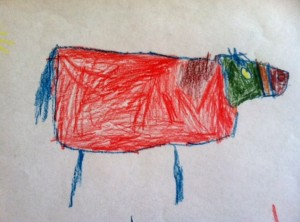 """Horse"" by Isaac - age 6"