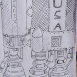 Space Launch System by Evan - age 13
