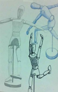 Manikin Drawing