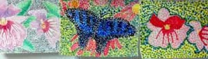 1point3 300x86 Pointillism Painting