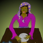 Fortune Teller by Melody age 11 150x150 October Art Work by Homeschool Students