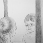 Alyssa Forbes - But is it Sad Enough -graphite - 15