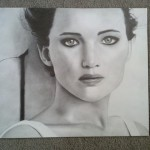 Angelina D. Jennifer Lawrence graphite 16 150x150 Presenting the Art For Homeschool April 2014 Art Show