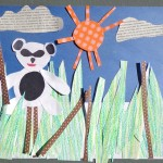 Hannah M. - China's Best Panda - paper collage - 5