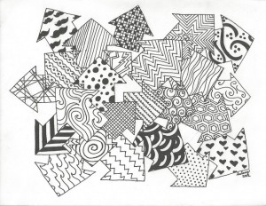 Kelsey Scarbrough - Arrowdynamic - sharpie, paper - 18